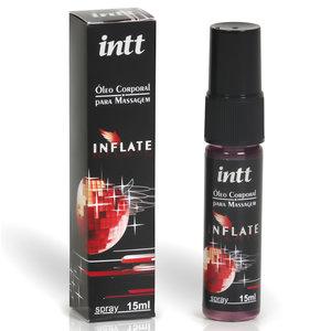 Excitante Unissex Beijável para Massagem Inflate 15ml