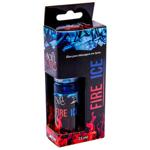 Óleo de Massagem Fire & Ice 15ml