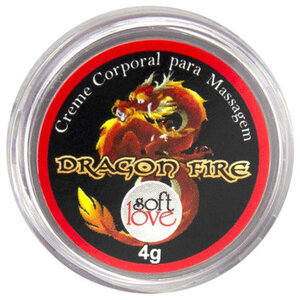 Creme Excitante Unissex Dragon Fire 4g
