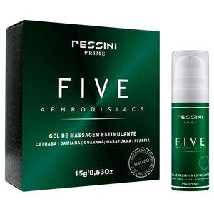 Gel Estimulante com Efeito Refrescante Five Aphrodisiacs 15g