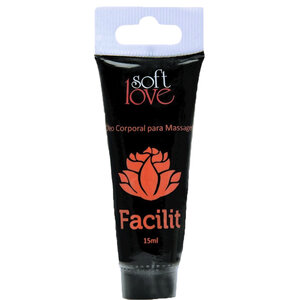 Óleo Soft Love para Massage Corporal Facilit - 15 mL