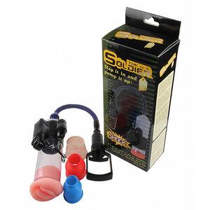 Bomba Peniana The U.S Soldier com Vibrador