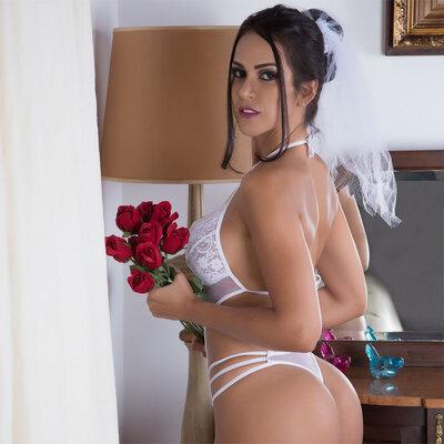 Fantasia Body Noiva Docinho