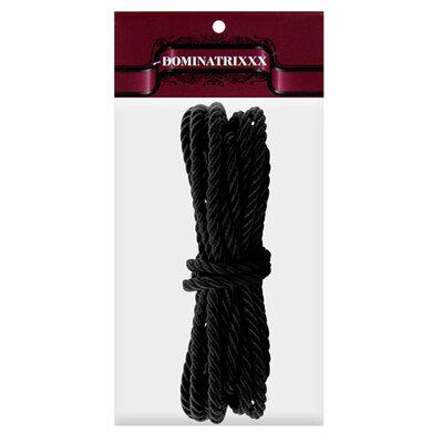 Corda Shibari Dominatrix para Sado Preto - 5 m
