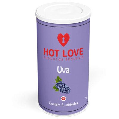 Bolinhas Beijáveis Hot 3 Unidades Hot Love