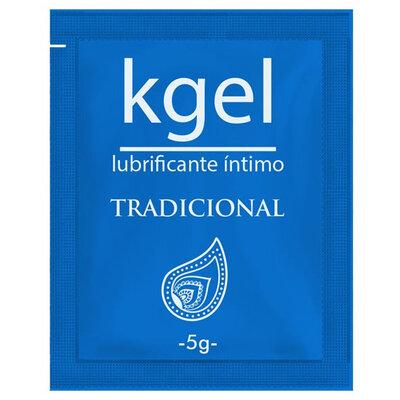 Lubrificante Íntimo em Sachê KGel Modelo Tradicional 5g