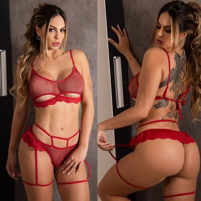 Conjunto Sensual Hot Woman