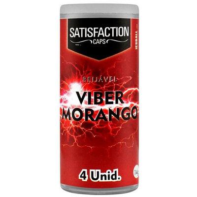 Bolinha Funcional Satisfaction Viber Sabores - 4 Unidades