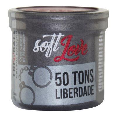 Bolinha Funcional Soft Love Modelo 50 Tons de Liberdade - 3 Unidades