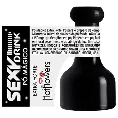 Pó Mágico Sexy Drink Modelo Extra Forte 1g
