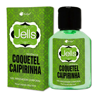 Gel Corporal Para Massagem Jells Caipirinha 30ml