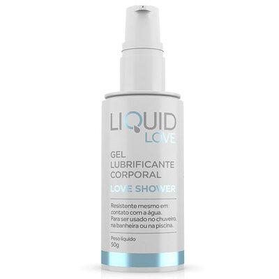 Lubrificante Liquid Love Resistente À Água Ideal Para Banheira Love Shower 50g