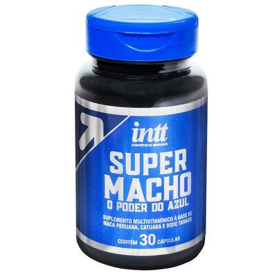 Retardante Masculino Super Macho - 30 Cápsulas