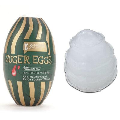 Masturbador Suger Egg Texturizado Magical Kiss