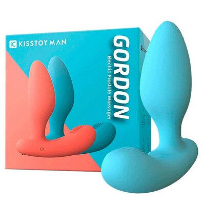Massageador de Próstata com 10 Modos de Vibração - Gordon - Kisstoy