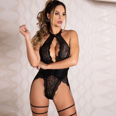 Body Rendado Sensual - Giuliana