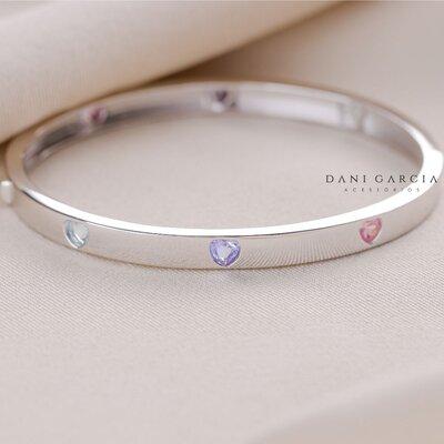 Bracelete Love Prata 925