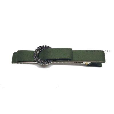Bico de Pato Cetim Verde Militar