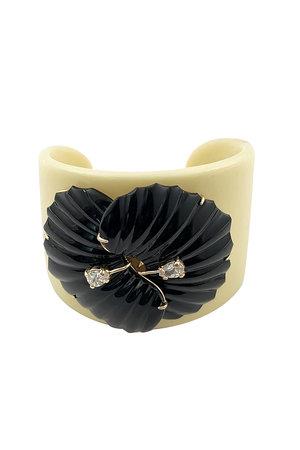 Bracelete Leque Gomos Lateral - Exclusivdade Duza