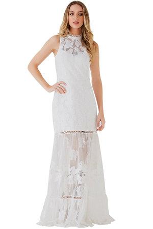 Vestido Flower Lace