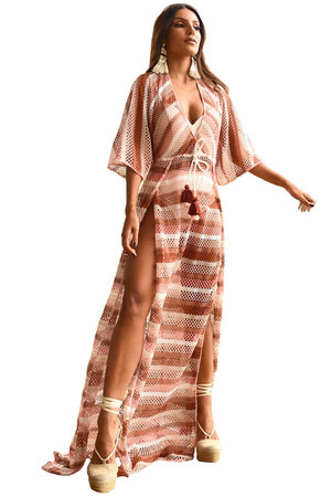 Vestido Longo Tricô