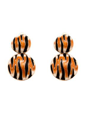 Brinco Zebra Pressão - Collab Maria Braz para Rosana Bernardes