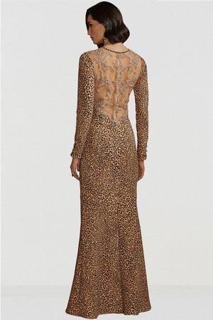 Vestido Longo Leopard