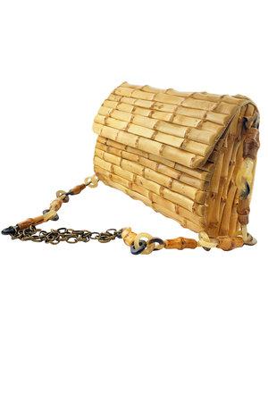 Clutch Bambu com Alça Longa