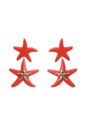 Brinco Estrela Dupla - Coleção Duza Collab Ivana Salume