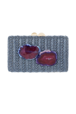 Clutch Placas Ágata - Exclusividade Duza by Fernanda Bertoni