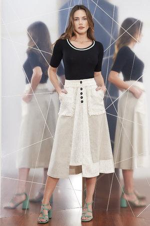 Saia Linho Tweed