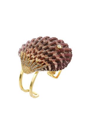 Bracelete Aro Duplo Concha