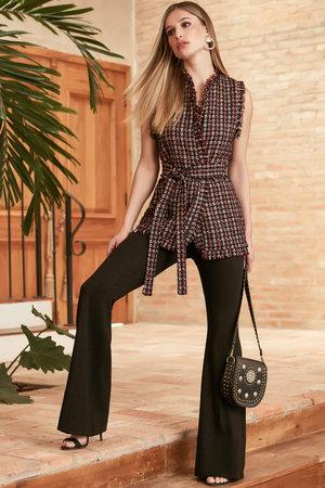 Colete Tweed Carmenere