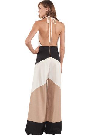 Calça Tricolor Pantalona