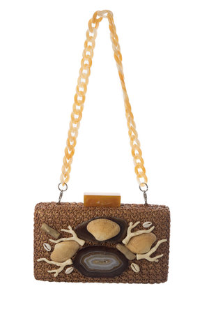 Clutch Placa Conchas - Exclusividade Duza by Fernanda Bertoni