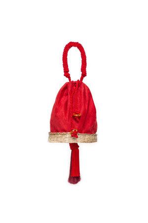 Bolsa Bardot - Red