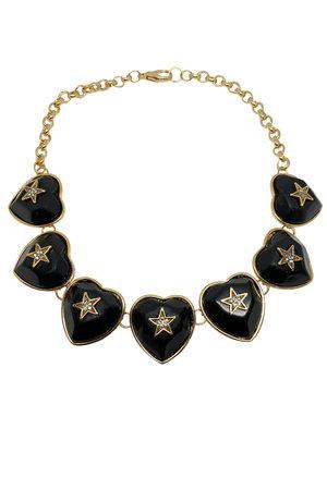 Colar Heart Star