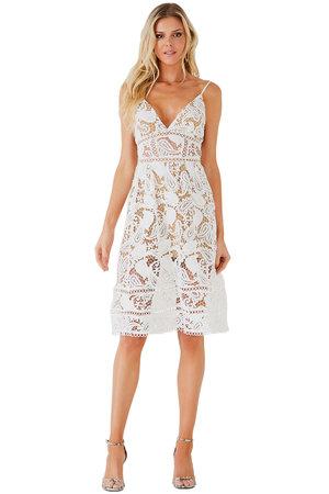 Vestido Midi Branca