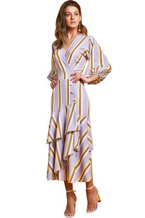 Vestido Midi Listras