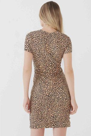 Vestido Basic Leopard