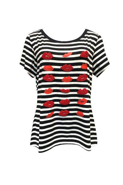 T-Shirt Listrada Bocas