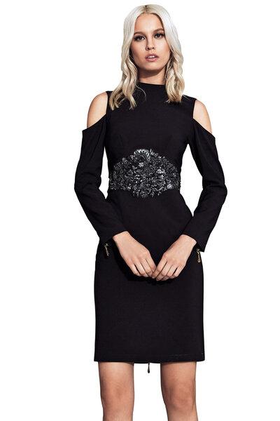 Vestido Pala Bordado
