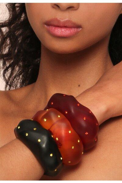 Bracelete Arenito Cristais - Collab Carol Celico