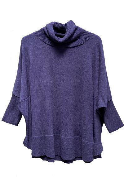 Blusa Tricô Poncho