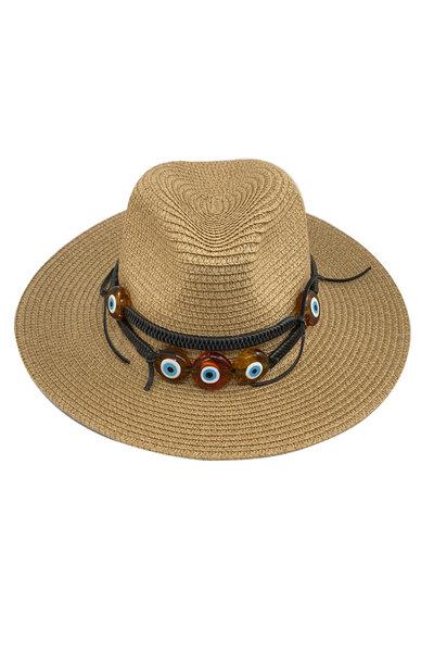 Chapéu Palha Olhos Gregos - Exclusividade Duza por Fernanda Bertoni