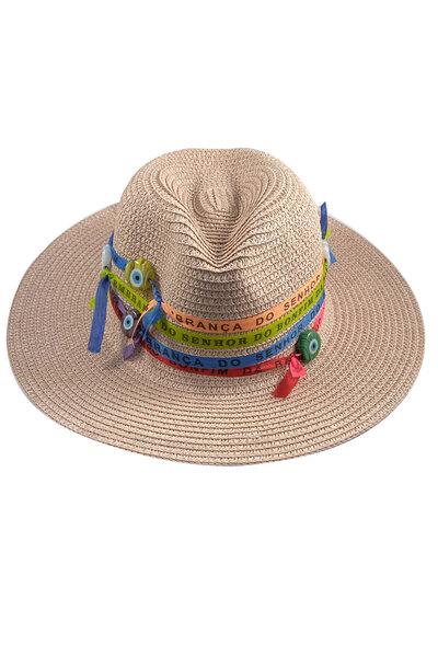 Chapéu Palha Senhor do Bonfim - Exclusividade Duza por Fernanda Bertoni
