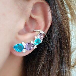 Brinco Ear Cuff Colorful