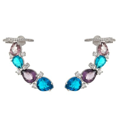 Brinco Ear Cuff Colorful