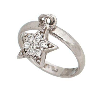 Anel de Prata com Estrela