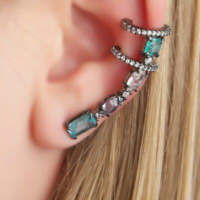 Ear Cuff Poderoso Colorido